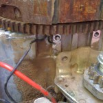 Broken Wire From Stator 2